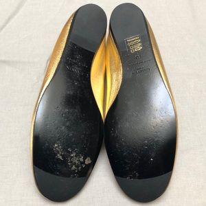 Lanvin Shoes - Gold Lanvin ballet flats